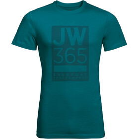 Jack Wolfskin 365 T-Shirt Uomo, dark spruce